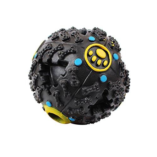 UEETEK Snackball Hundespielzeug mit Leckerli befüllbar