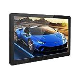 7 Zoll Portable Gaming Monitor HDMI UPERFECT Tragbarer Display Bildschirm Auflösung 1024x600 Kompatibel mit 1920x1080 für Raspberry Pi / PS4 / Xbox/NS/Xbox Computer Mac (Schwarz)