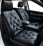 Big Ant Autositzkissen - weiches Auto Sitzauflagen, Bequeme Auto Sitzbezüge Universal Auto Sitzauflage, Schwarz, 1 Stück