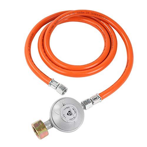 Bade Gasdruckregler 50mbar |1,5M Schlauch | Schraubanschlüssen 1/4' Links | G607