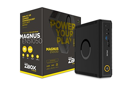 ZOTAC ZBOX EN51050-BE Barebone NVIDIA GTX1050 Inteli5-7500T 2x DDR4 SODIMM slots M2 SSD slot 2.5 SATAIII BAY