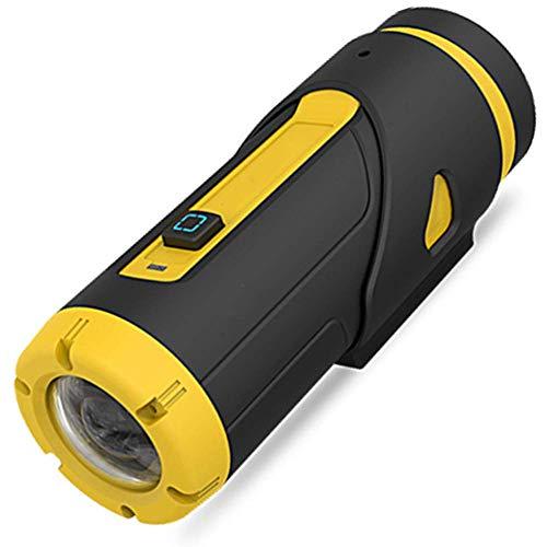 1080P Full HD Action Kamera,Mini Wlan Wasserdicht(Nicht Case)Nachtsicht Dash Cam Kamera mit Drahtlose Fernbedienung&Dashcam Zubehör Montieren für Motorrad Helm,Stativ,Fahrrad,Fahrradlenker,Star light