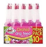 Doff Orchideendünger, Tropfen, 10er-Pack