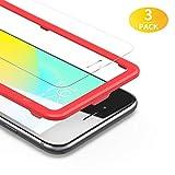 BANNIO [3 Stück] für Panzerglas für iPhone 6 / iPhone 6S,HD Ultra-klar Panzerglasfolie Schutzfolie für iPhone 6 / iPhone 6S [Installationsrahmen inklusive],9H Härte,Blasenfrei,Anti-Kratzen