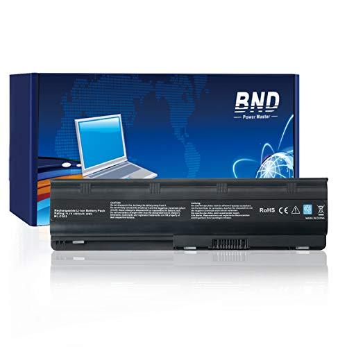 BND Laptop Akku für HP MU06 593553-001 G32 G42 G56 G62 G72 G4 G6 G7, Compaq Presario CQ32 CQ42 CQ43 CQ56 CQ62-12 Monate Garantie [Li-Ion 6-Zellen]