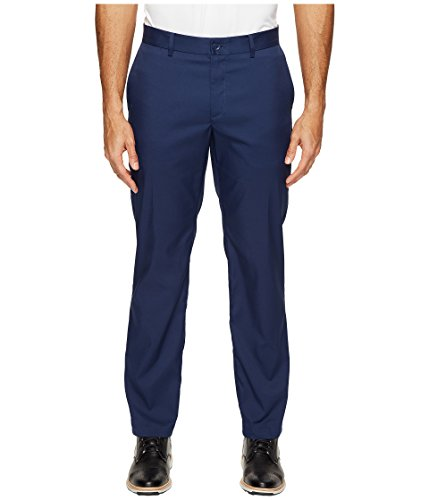 Nike Herren Flat Front Golfhose, Midnight Navy, 36-32