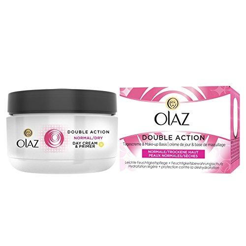 OLAZ Essentials Double Action Schützende Tagescreme, Tiegel