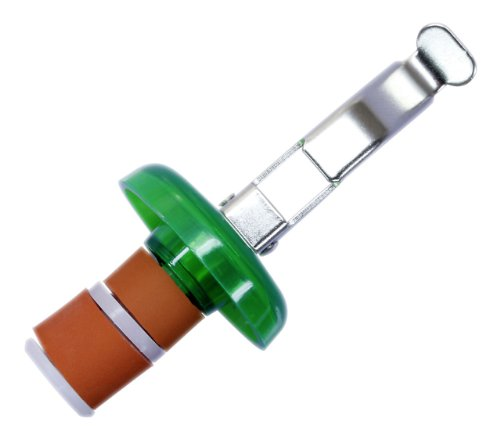 De-Plastik 6022 110 Universal-Flaschenverschluß / 80 x Ø 33 mm / bunte Farben / 3er Set
