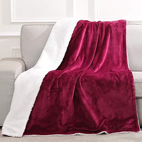 Heizdecke mit Abschaltautomatik fürs Bett Überhitzungsschutz Flanell & Lammwolle Elektrische Wärmedecke Groß 130 * 180cm mit Fernbedienung mit Timer Waschbar, Heimgebrauch Büronutzung Sofa benutzen