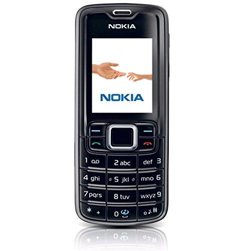 Nokia 3110 classic black (Bluetooth, UKW Radio, MP3, Kamera mit 1,3 MP) Handy