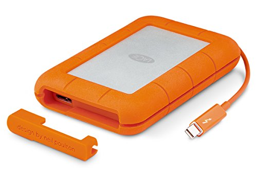 LaCie Rugged Thunderbolt 2 TB, externe tragbare Festplatte - for MAC- STEV2000400