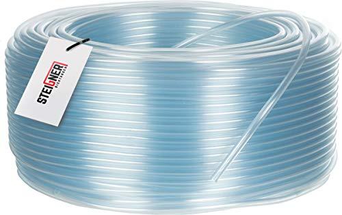 STEIGNER Benzinschlauch Wasserschlauch PVC Schlauch Transparent, SBS