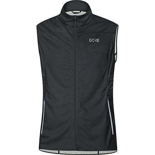 GORE Wear Winddichte Herren Laufweste, GORE R5 GORE WINDSTOPPER Vest, Größe: XL, Farbe: Schwarz, 100154
