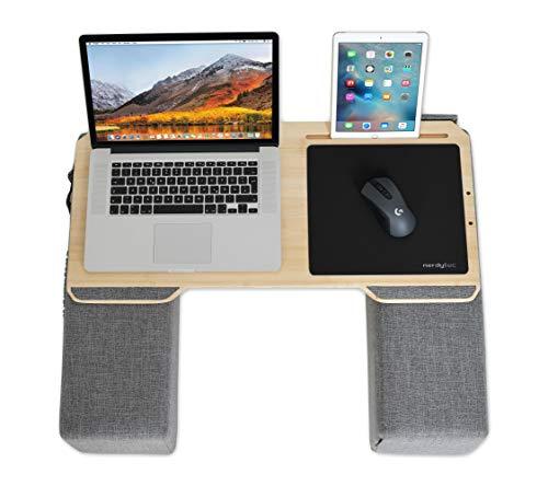 Couchmaster CYWORK (Ergonomisches Lapdesk für Notebooks oder Wireless Peripherie, inkl. Kissen, geeignet für Couch/Bett)