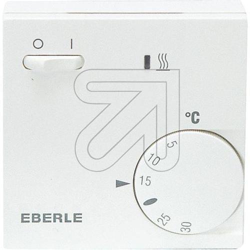 EBERLE 111110451100 Eberle RTR - E 6202 Raumtemperaturregler mit Netzschalter Ein/Aus und LED Heizen