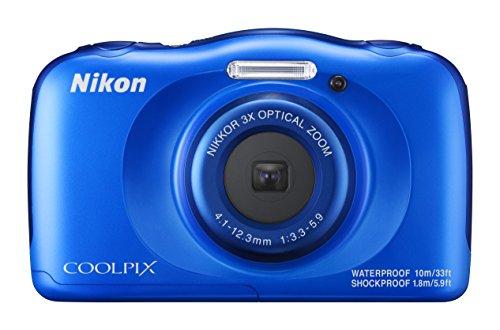Nikon Coolpix W100 Kamera blau