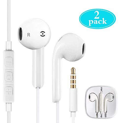 In Ear Kopfhörer, Etmury In Ear Headsets Earphones Ear Ohrhörer Kopfhörer mit Mikrofon kompatibel mit alle 3,5mm Klinkenstecker Smartphone und MP3 Player