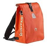 Rohtar Allround Series - Fahrradtasche - Fahrradrucksack - Gepäckträgertasche - Die ideale Reisetasche für Radfahrer - Verdeckte Gurte und Haken und voll wasserdichtes PVC-Gewebe -18L Rot