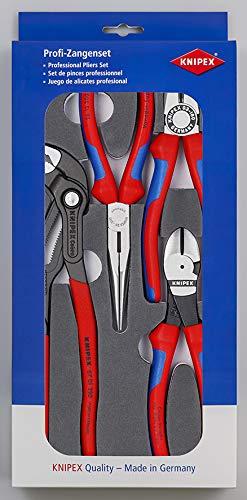Knipex 00 20 01 V15 Zangen-Set (Basic, in Schaumstoffeinlage)