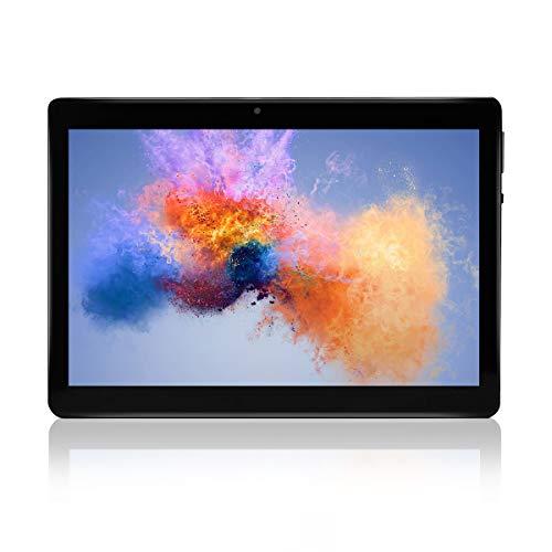 Android Tablet 10 'Quad-Core-Prozessor 2 GB RAM und 32 GB Tablet PC WiFi-Speicher GPS-Kamera und Zwei Kartensteckplätze (Schwarz)