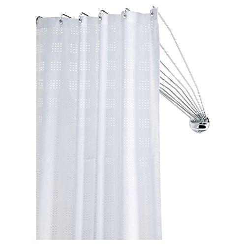 Sealskin 272226304 Duschspinne Umbrella Die Flexible Duschfaltkabine, Duchvorhangstange, Metall, chrom, 80 x 155 x 5 cm