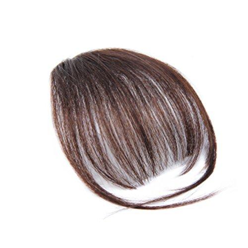 Frcolor Clip-in Pony Haarverlängerung Haarteil für Alltag Cosplay (Hellbraun)