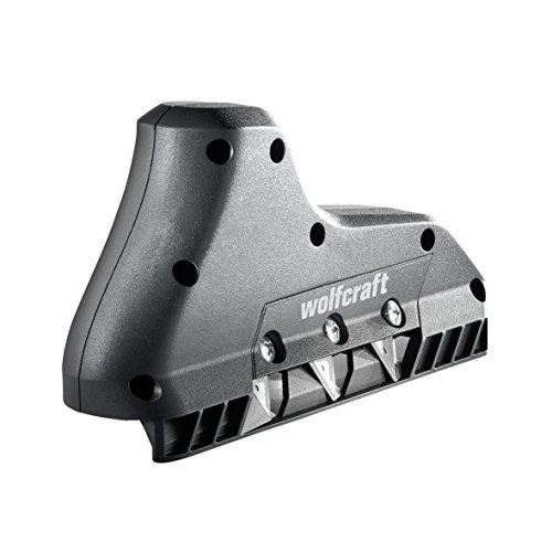 Wolfcraft 4009000 3-Fach Kantenhobel, schwarz