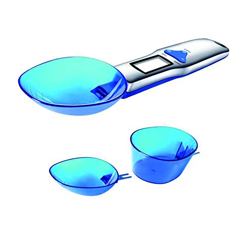 Genaue Elektronische Löffelwaage Digitale Löffelwaage - LCD Display für die Lebensmittel Edelstahl Messwerkzeug,Gewicht 500/0,1g (3)