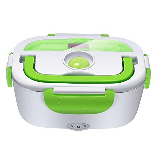 YISSVIC Elektrische Lunchbox Speisenwärmer Tragbare Food Box für Mahlzeit in Büro Schule Kindergarten Picknick usw.