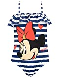 Disney Mädchen Minnie Mouse Badeanzug Blau 98