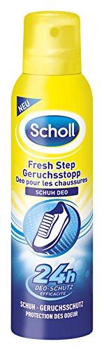 Scholl Fresh Step Geruchsstopp Schuh Deo, Schuhspray, Schuhdeo, frische Schuhe, 3er Pack (3 x 150 ml Spray)