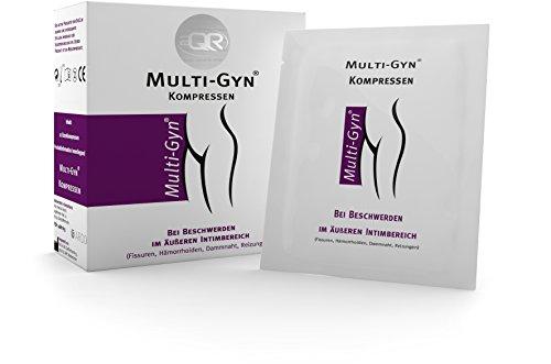 Multi-Gyn Kompressen (für Intimbereich, Hämorrhoiden & Dammriss)