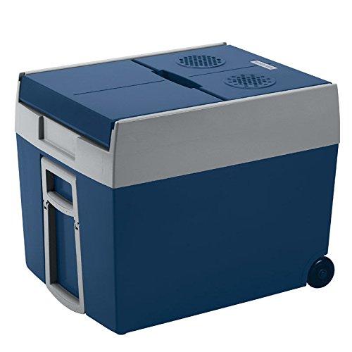 MOBICOOL W48 AC/DC - Elektrische Kühlbox Trolley-Kühlbox  I  48 Liter Fassungsvermögen für komplette Bierkiste  I  12 V und 230 V Anschluss für Auto und Steckdose