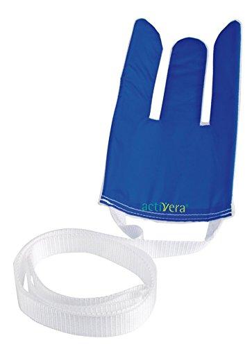 Strumpfanziehhilfe Rehastage, Anziehhilfe für Strümpfe und Socken mit 2 langen Zugbändern Original Rehastage