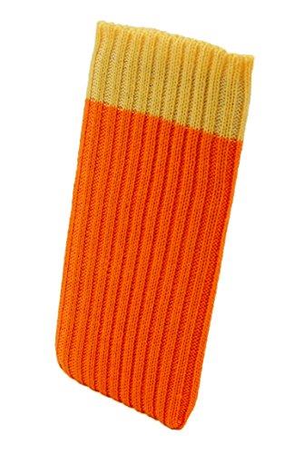 iPhone 6 / 6s / 7 Handysocke Strick-Tasche in orange Original smartec24 Rundumschutz dank dicker dicht gestrickter Wolle passt sich dank Strech perfekt dem jeweiligen Smartphone an