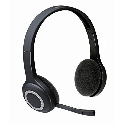 Logitech H600 Headset schnurlos schwarz-blau
