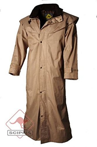 Australischer Reitmantel Regenmantel Stockman beige Gr 40 M