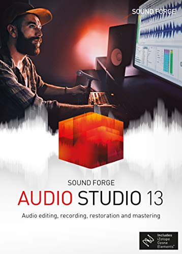 SOUND FORGE Audio Studio 13|Standard|1 Device|Perpetual License|PC|Disc|Disc