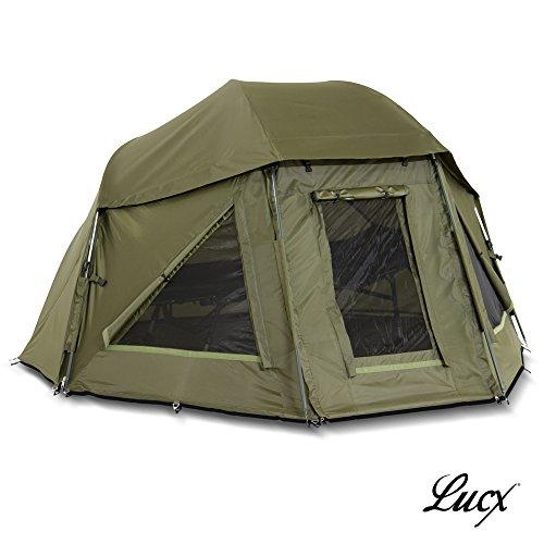 Lucx Schirmzelt / Brolly / Shelter / Angelzelt / Karpfenzelt / Zelt / Campingzelt, 10.000mm Wassersäule