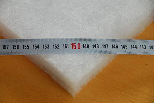 Impexso Volumenvlies Vlieswatte Diolen Polsterwatte viele Breiten lieferb. (300g/m² 30mm dick, Vliesbreite 1,50m)