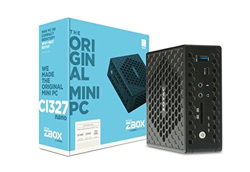 ZOTAC ZBOX CI327 NANO Barebone Intel N3450 quad core 2X DDR3L-1600 SATAIII DUAL GLAN WIFI BT DP HDMI VGA EU+UK PLUG