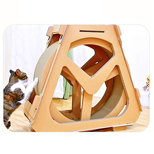 Pet Love Katzenmöbel Gewölbtes Laufband Riesenrad Katzenkratzbrett Katze, Die Rahmen Klettert Raddrehung small