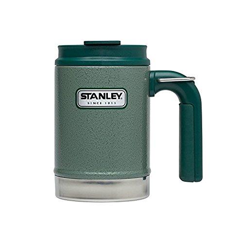 Stanley Trinkbecher Tasse Adventure Vacuum Steel Camp Mug, Grün, Standard