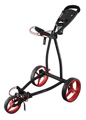 Big Max Golf Trolley Blade IP 3 Rad Flat faltbar Phantom-Red