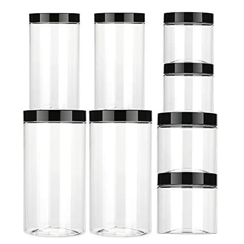 Makone BPA frei & spülmaschinengeeignet wasserdicht aufbewahrungsdose Vorratsdosen Kunststoff Aufbewahrungsbehälter, 8er - Set