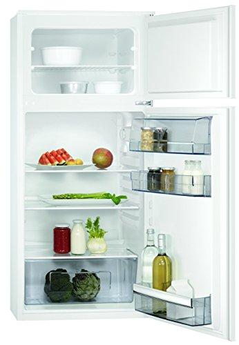 AEG SDB51221AS Einbau Kühl-Gefrier-Kombination mit Gefrierteil oben / 147 l Kühlschrank / 44 l Gefrierschrank / Einbaukühlschrank (A++) / Flexible Ablagen / XXL-Gemüseschublade / H: 122,5 cm / weiß