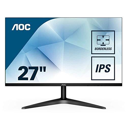 AOC 27B1H Monitor (VGA, HDMI, 60 Hz, 1920 x 1080 Pixel), schwarz