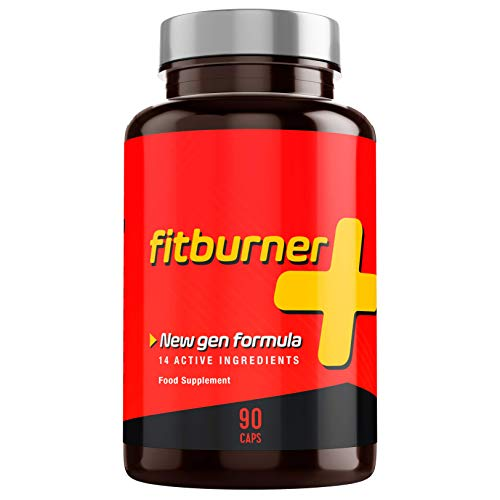Fitburner+ | Abnehmen - F-Burn - Kraftvolle Formel mit 14 Qualitätszutaten | Für Frauen und Männer | 90 pflanzliche Kapseln