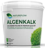 Natureflow Algenkalk Pulver für Buchsbaum - Widerstandskraft und Regeneration für anfällige Buchsbäume (z.B. Buchsbaumzünsler) - Premium-Qualität aus Island - Natürliche Alternative Garden