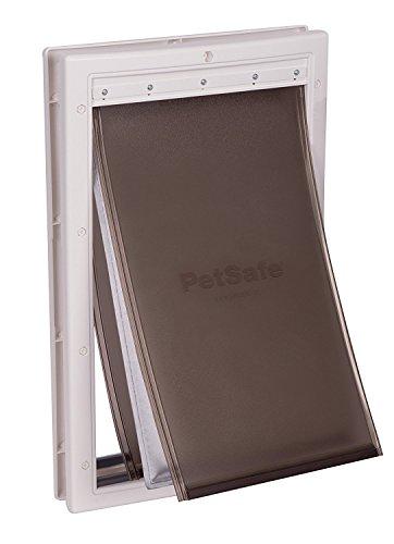 PetSafe Haustierklappe L, extrem wetterfest, 2 Verschlussoptionen, energiesparend, isiolierend, große Hunde